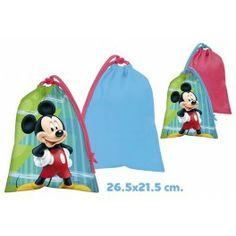Saco bocadillo Mickey www.elchollofallero.com