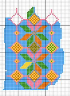 pattern for filet crochet Tapestry Crochet Patterns, Crotchet Patterns, Loom Patterns, Mochila Crochet, Tapestry Bag, Crochet Chart, Filet Crochet, Crochet Purses, Crochet Home