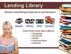 Communication Activities, Health Communication, Niagara Region, Lending Library, End Of Life, Caregiver, The Borrowers, Books, Livros