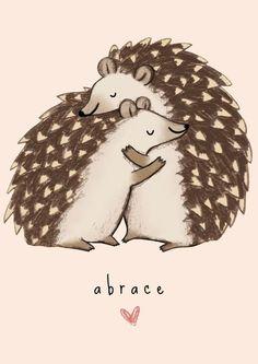 A estação de abraços quentinhos! ❤❤ #lojaamei #abrace #hug #fofo #muitoamor #porcoespinho
