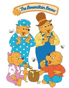 Berestein Bears we read this to my daughter every night