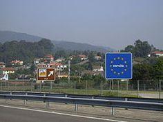 Tuy (Pontevedra) - Frontera con Portugal