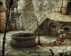 Steampunk game Machinarium! Luv Luv Luv