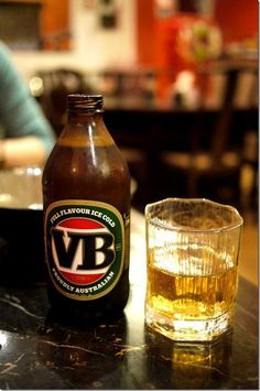 Victoria Bitter - this is my absolute favorite beer, I wish I could get it here.