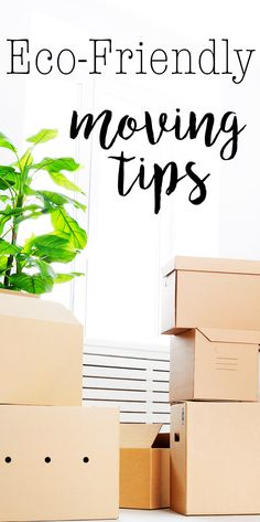 Eco-Friendly Moving Tips - reduce your waste and carbon footprint while moving!