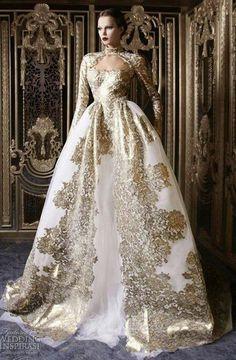 Rami Kadi Wedding Dress Royal Ball Gowns Princess Dresses