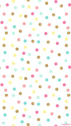 Mint pink gold confetti spots dots iphone wallpaper phone background lock s Cute Backgrounds, Cute Wallpapers, Wallpaper Backgrounds, Confetti Wallpaper, Confetti Background, Iphone Wallpapers, Polka Dot Background, Party Background, Iphone Backgrounds