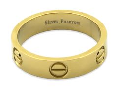 Love Screw Ring - 18k Gold Plated