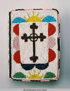 Beaded Bible Cover :: University of Alaska Museum of the North