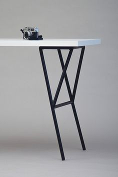 Faced metal table legs van NORDSOP op Etsy More