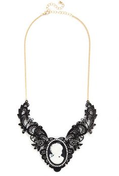 ModCloth Visage of Love Necklace on shopstyle.com