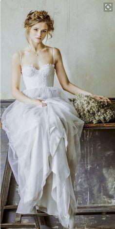 #woman's #portraiture #flowy gown, florals, head wreath #wedding, #boho, #bridal crown