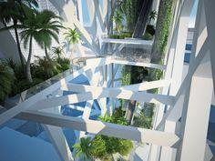 The Frame Hotel / Villamoda Galleries in Dubai, United Arab Emirates