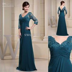 Free shipping, $106.16/Piece:buy wholesale 2013 New Plus Size Long Sleeve Green Lace A-Line V-Neck Backless Mother of the Bride Dresses Bridal Groom Gown Formal Dresses Evening Dress from DHgate.com,get worldwide delivery and buyer protection service.