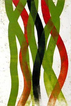 Doug Glovaski, Alliance #68 2010, acrylic  on paper