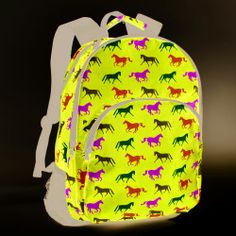 47a5e38e3ed Tek Trek Backpack with Horses Horse Backpacks for School - lots of colors  and styles to