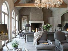 belgian inspired living room
