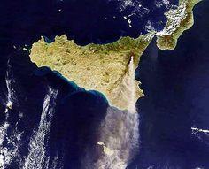 sicilia - sicily from the sky