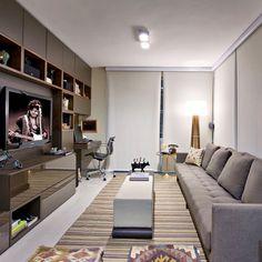 E lá no cantinho está o home office...  #bloghomeidea #loveidea #décor #decoração #inspiração #instadecor #sala #home #casa #Padgram
