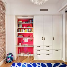 Never depart from your wardrobe doors empty. Instead simply replacing the wardrobe doors will help save you money and provide you a completely new loo. Kids Wardrobe, Wardrobe Doors, Wardrobe Design, Built In Wardrobe, Built In Desk, Built In Storage, Built Ins, Smart Storage, Desk Storage