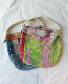 [TIGRE BROCANTE] RE.KANTHA BAG [Restock] (M)