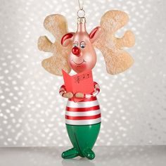 De Carlini Ballerina Christmas Ornament | White Christmas ...