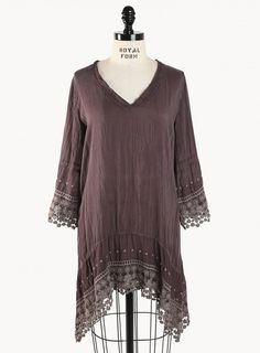 I just love plus size bohemian clothing from Johnny Was. Johnny was elegant clothes and accessories are a way of life rather than a trend to follow. Johnny Was designs inspire women to be who they are and to make clothes that are beautiful, simple and versatile. Check out one of their plus size bohemian clothing The Johnny Was High/Low V-Neck Tunic is lightweight and lays gently over the body.     Visit: http://www.johnnywas.com/clothing.html/?collection_name=5313
