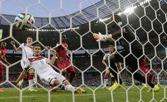 Gol del empate por klose Brasil 2014
