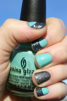 China Glaze For Audrey + Essie Cashmere Bathrobe + Essie Ignite the Night + Wet 'n' Wild Cruisin' the Blvd