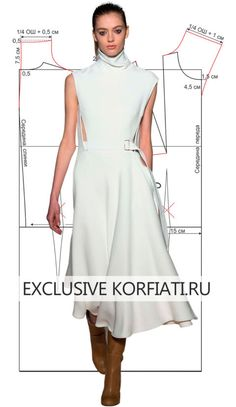 Skirt Patterns Sewing, Clothing Patterns, Apron Patterns, Kleidung Design, Custom Dresses, Fashion Sewing, Pattern Fashion, Blouse Designs, Fashion Dresses
