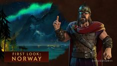 Get a first look at the Norwegian civilization and its leader, Harald Hardrada…