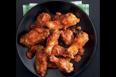 Ultrajednoduchá křídla   Apetitonline.cz Buffalo Wings, Chicken Wings, Russian Recipes, Meat, Polish, Vitreous Enamel, Nail, Nail Polish, Nail Polish Colors
