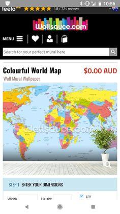 Free Hd Political World Map Poster Wallpapers Download | World map ...