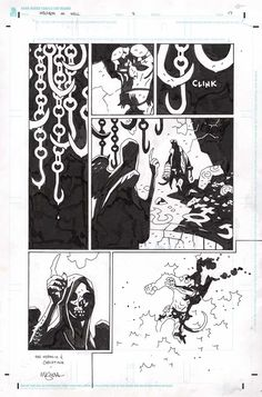 Hellboy in Hell #2 page 17 Comic Art