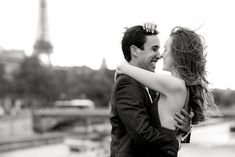 So when you come to Paris for your engagement photos, there will likely be more locations than time commissioned. That means you will need to make some location choices. If you want to combine the iconic Eiffel Tower (who doesn't) with pure luxury and a more subtle vantage point, then the Alexander III Bridge is your ideal spot. Hey, and at night, the lanterns just look so romantic and so do the reflections from the Seine River. It is a MUST-PHOTOGRAPH spot for serious couples.