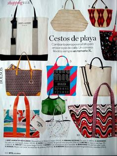 The jade talega in @ellespain. So happy! #thetalega #ellemagazine  #accessories #benchbags #summerstyle #shoulderbag