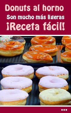 Find images of Donuts. Pan Dulce, Donut Shop, Confectionery, Sin Gluten, Doughnuts, Muesli, Sweet Treats, Food And Drink, Pizza