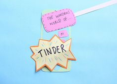 The Wondrous World of Tinder After being in a relationship for almost ten years, dating was a completely foreign concept. Tinder, Girl Power, Relationship, Concept, World, Creative, Prints, Design