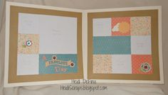 layout by Heidi DeFina using CTMH Clementine paper