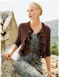 Pima Cotton Coastal Cardigan