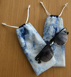 Check out my etsy shop for more shibori dyed handmade bags and cases! Free shipping within Switzerland! White Tea Mugs, Shibori Techniques, Bag Design, Tie Dyed, Handmade Bags, Switzerland, Sunglasses Case, My Etsy Shop, Cases