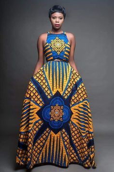 Ray Darten offers african wear for women like - african print skirts, dresses, jumpsuit, african print outfits for sale at lowest prices. African Print Dresses, African Fashion Dresses, African Dress, Fashion Outfits, African Style Clothing, Ghanaian Fashion, African Outfits, Fashion Hacks, African Prints