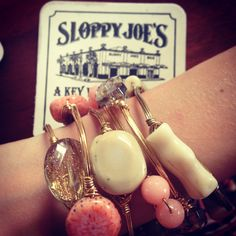 Bourbon and Boweties sold at Hattie's branches boutique! Find on Facebook or Instagram! Obsessed with these bracelets!