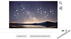 #google #doodle #gökyüzü #göktaşı #perseidmeteorshower #perseidmeteor #meteor #meteorshower  Google'un Doodle'u Perseid Meteor Yağmurları