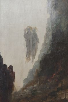 Gustave Moreau - The Angels of Sodom, 1890