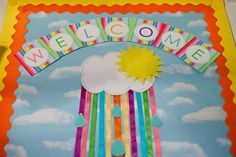 ideas for welcome tag board - Google Search