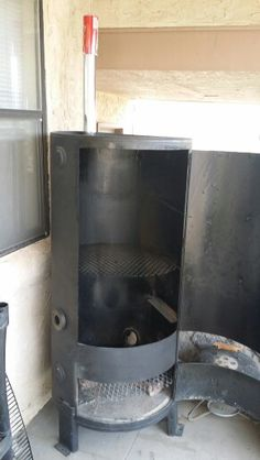 100 gallon water heater smoker