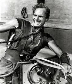 """Charleton Heston in """"Ben Hur"""" - why don't they make movies like this anymore?!"""