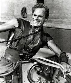"Charleton Heston in ""Ben Hur"""