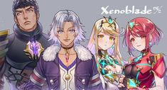 Video Game Characters, Anime Characters, Xeno Series, Xenoblade Chronicles 2, Kid Icarus, Legend Of Zelda Breath, Nintendo, Bleach Anime, Super Smash Bros